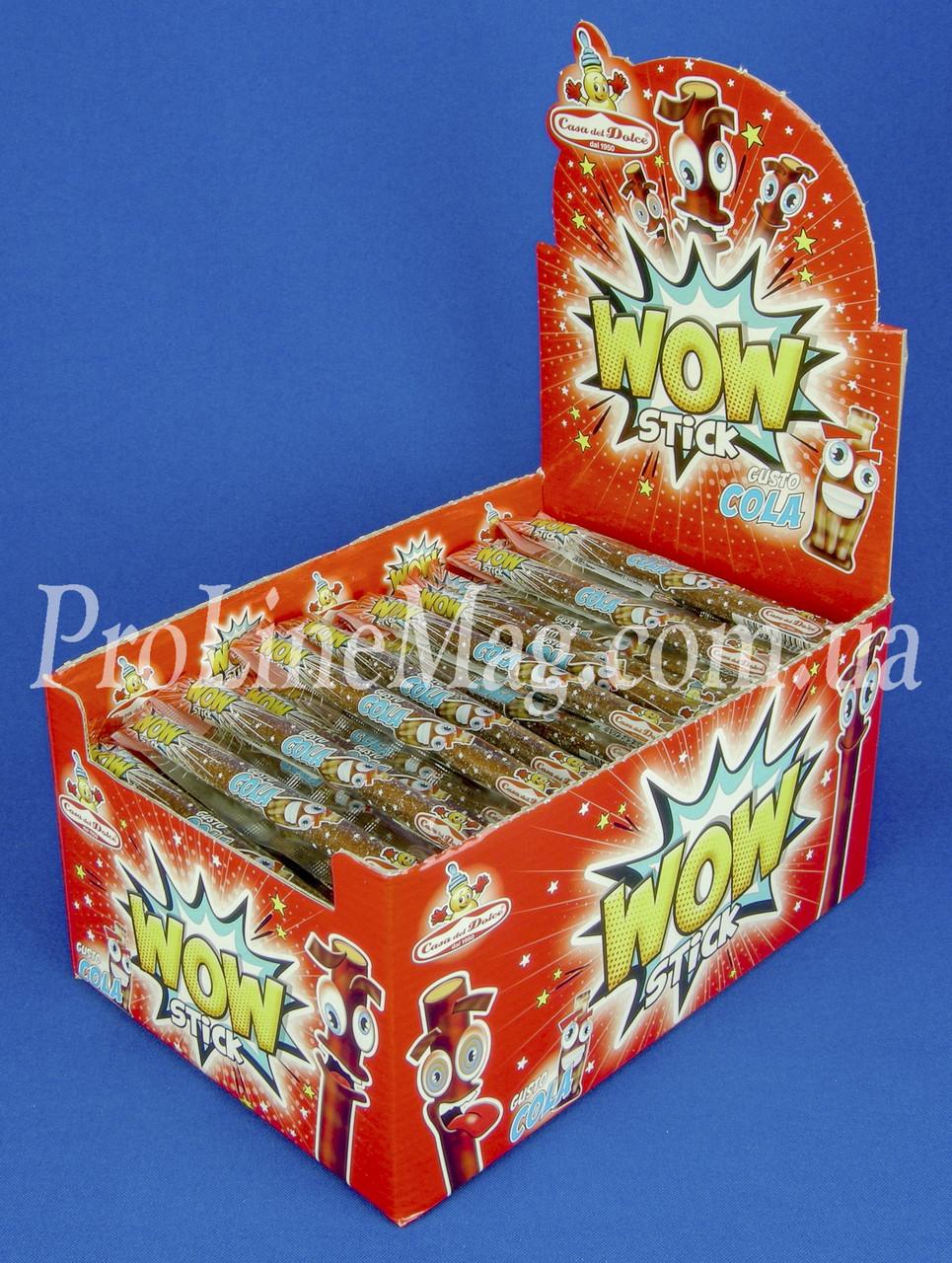 Конфета Кола Casa del Dolce® WOW stick Cola