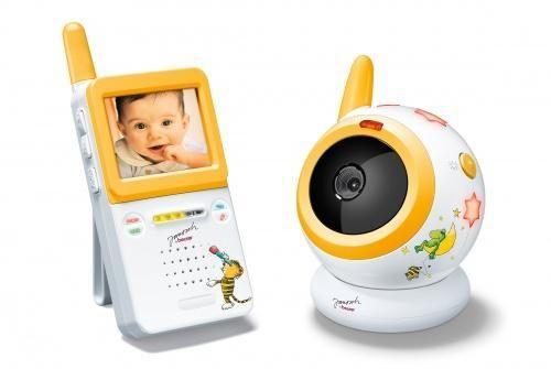 Видеоняня с камерой ночного видения и автоматическим включением при обнаружении шума Вeurer JBY 101