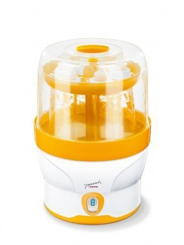 Цифровой паровой стерилизатор для бутылочек детского питания с функцией сохранения стерильности до 3 часов Вeurer JBY 76