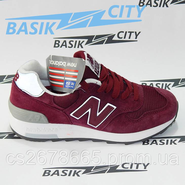 Женские кроссовки New Balance 1400 бордовые