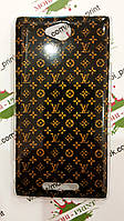 Чехол для Sony Xperia C C2305 (Louis Vuitton)