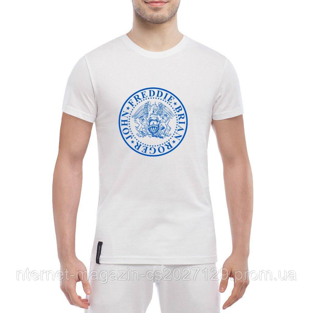 Мужская футболка с группой Queen Freddie Mercury