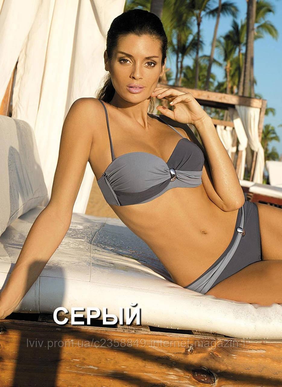 1d8c8d4393062 Купальник Liliana 259 от TM Marko (Польша) Цвет серый - Интернет-магазин