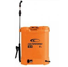 Обприскувач акумуляторний Gerrard GS-12, 8АН/12V, робочий тиск 4Bar, об'єм 12 л, вага 5,5 кг