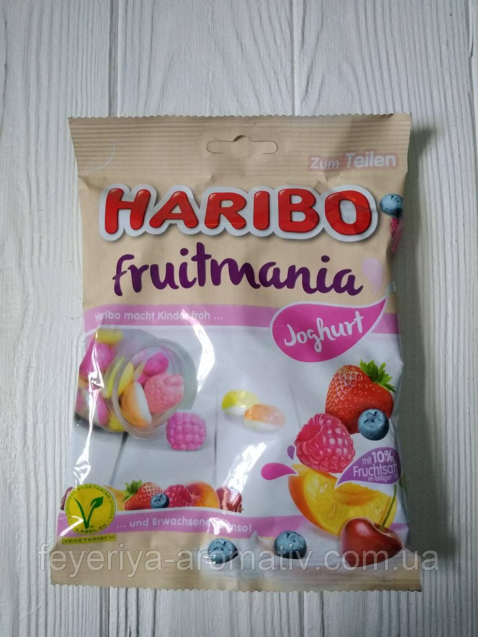 Желейные конфеты Haribo Fruitmania Joghurt 175гр. (Германия)