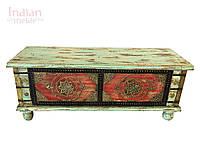 Індійська дерев'яна скриня