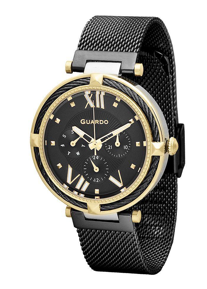Часы Guardo PREMIUM T01030(m2) GsBB браслет V кварц.