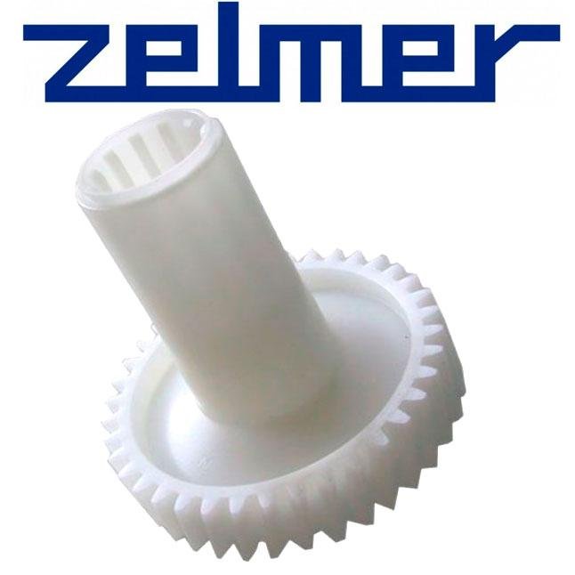 Шестерня с валом для мясорубки Zelmer 793638 (187.0005)