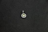 Серебряный кулон с ярким камнем серебро 925 пробы, фото 1