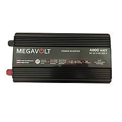 Перетворювач напруги 12v-220v 4000W MEGAVOLT