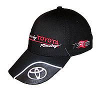 Бейсболка с логотипом TOYOTA черного цвета