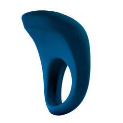 Ерекційне кільце з вібрацією MOQQA Tide Penis Ring blue