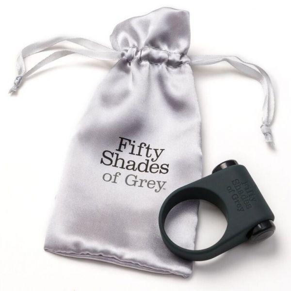Эрекционное кольцо с вибрацией Fifty Shades of Grey Feel it Baby!