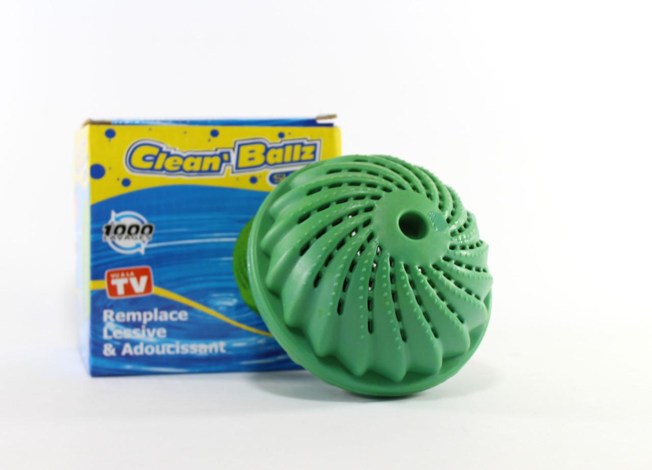 Шар для стирки без порошка Clean ballz, зеленый