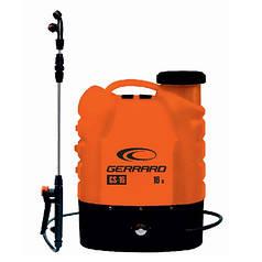 Опрыскиватель аккумуляторный GERRARD GS-16, 8АН/12V, рабочее давление 2-4Bar, объем 16л, вес 5,5кг