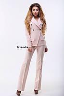 Женский брючный костюм, брюки клёш , фото 1