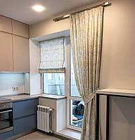 Римская штора на кухню, фото 1