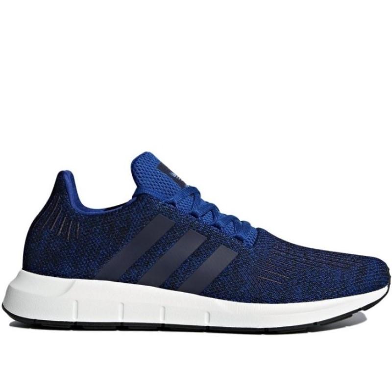 Кроссовки мужские adidas Originals Swift Run CG4118 (синие, беговые, летние, тканевый верх, бренд адидас)