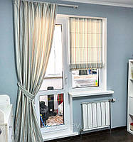 Шторы на окно с дверью , фото 1