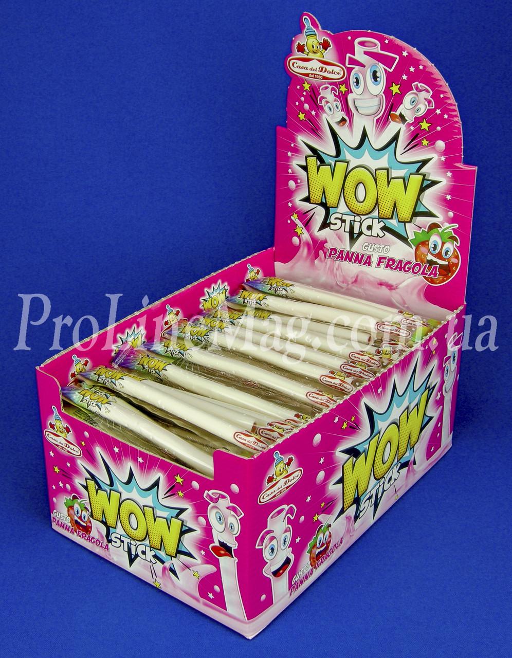 Конфета Клубника Casa del Dolce® WOW stick Panna Fragola