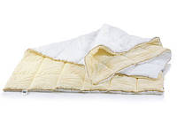 Одеяло антиаллергенное EcoSilk Carmela 0555 Hand Made сатин+микросатин зимнее 172х205 см вес 1900 г.
