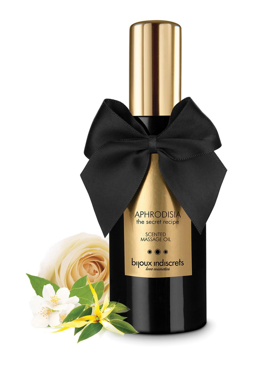 Массажное масло с цветочно-ванильным ароматом APHRODISIA, Bijoux, 100 мл