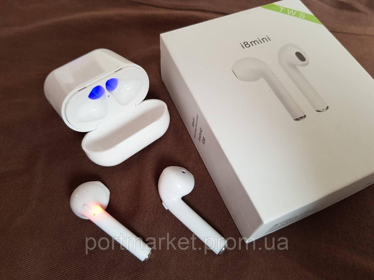 Беспроводные Bluetooth наушники  i8 Mini TWS