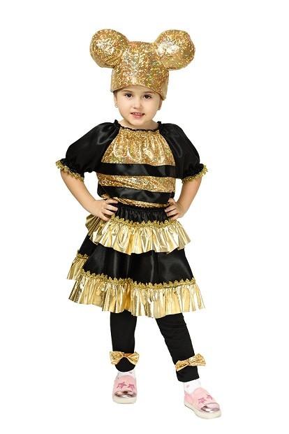 """Детский карнавальный костюм """"Кукла LOL Пчелка"""" для девочки"""