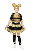 """Детский карнавальный костюм """"Кукла LOL Пчелка"""" для девочки, фото 3"""