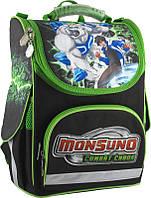 Ранец школьный каркасный KITE 2014 Monsuno 501-1 (MS14-501-1K)