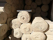 Неткане полотно х/б, біле 160 г/м2, ш. 70 см ( половина рулону)