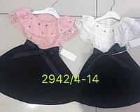Платье для девочек оптом, 4-14 лет,  № 2942