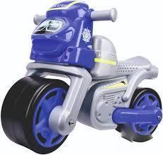 Мотоцикл машина каталка для катания малыша Полиция BIG 56312