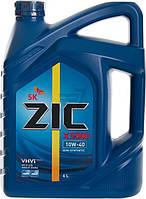Моторное масло Zic (Зик) X5000 10W-40 4 л.