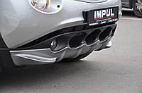 Накладка на передний бампер Nissan Juke, Ниссан Жук