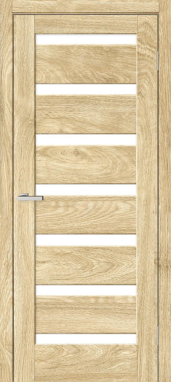 "Дверное полотно ""Rino 07 ПО"" Дуб Саванна  (Natural look)"