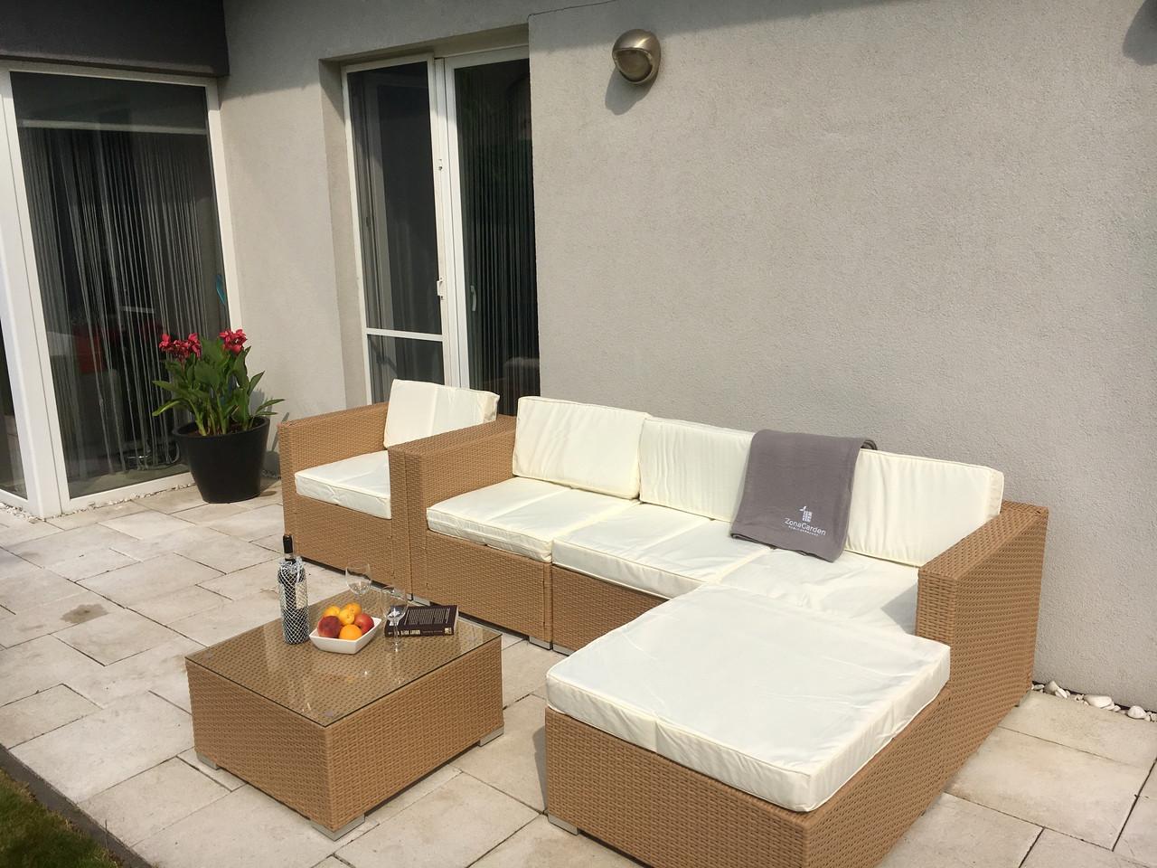 Комплект мебели LISBON из ротанга медовый