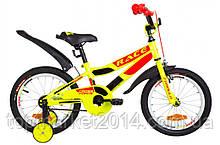 "Дитячий велосипед FORMULA RACE 16"" (жовто-оранжевий)"