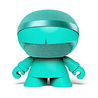 Акуст. стереосистема XOOPAR - XBOY GLOW(12cm,мят.,Bluetooth, MP3/SD-карт,микроф., аудио&USB-каб.,LED)