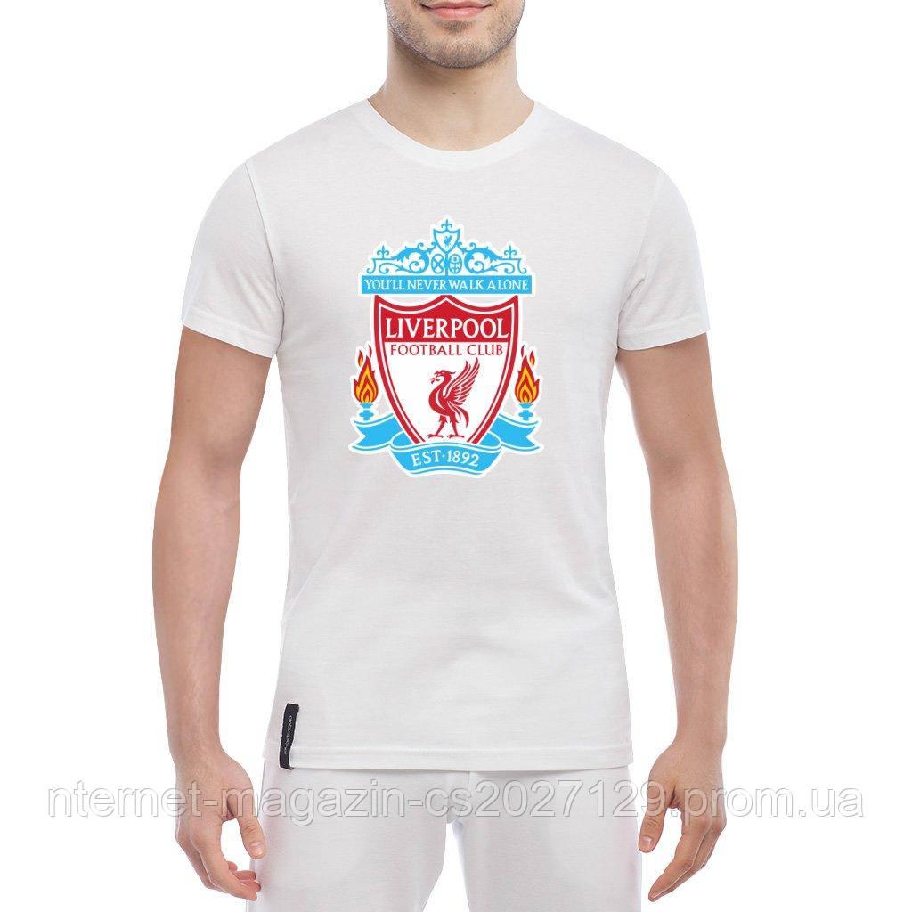 Футболка с печатью принта Liverpool