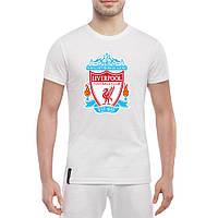 Футболка с печатью принта Liverpool , фото 1