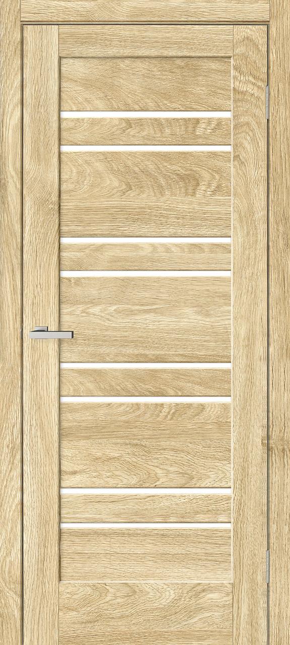 "Дверное полотно ""Rino 01 ПО"" Дуб Саванна  (Natural look)"