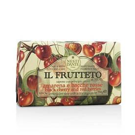 Мыло Nesti Dante Черешня и Малина 250г Il Frutteto Black Cherry and Red Berries