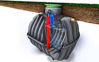 Система очистки стоков One2clean (автономная канализация) GRAF (Германия/Украина), на 4 чел.