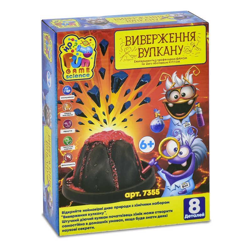 """Игра """"Виверження вулкану"""" 7355 (12) FUN GAME, (Украина)"""