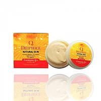 Питательный крем на основе коэнзима Q10 DEOPROCE Natural Skin Coenzyme Q10 Nourishing Cream, 100 мл
