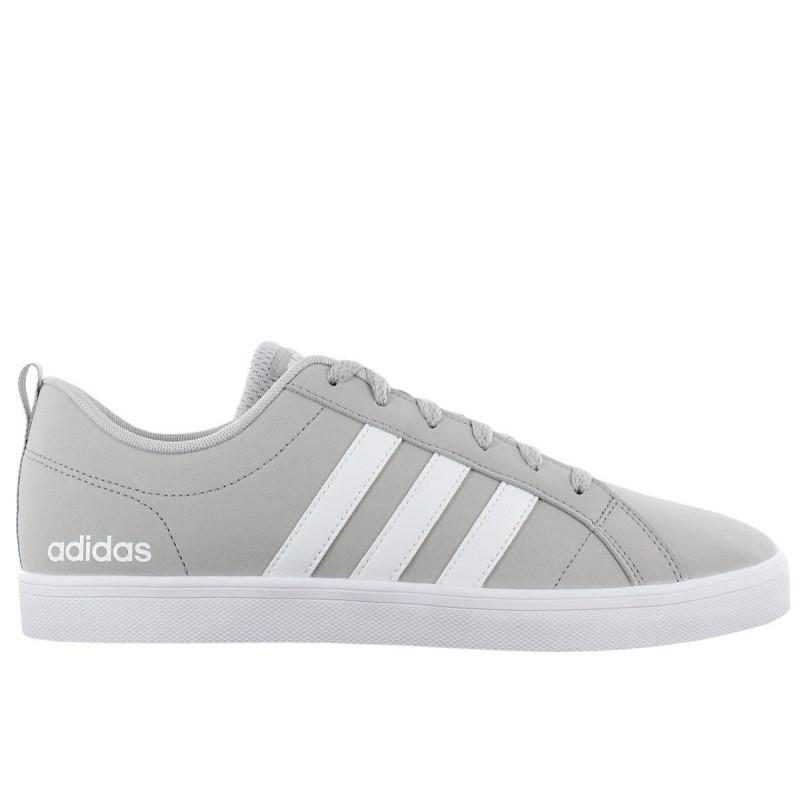 Кроссовки-кеды мужские adidas VS Pace DB0143 (светло-серые с белым, повседневные, закрытые, бренд адидас)