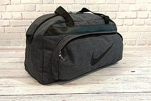Спортивная - дорожная сумка Nike  Темно-серый