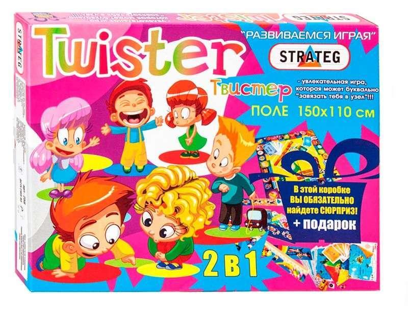 """Игра """"Твистер"""" 11256 (10) """"STRATEG"""", (Украина)"""