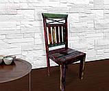 Індійське дерев'яне крісло, фото 4
